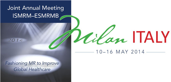 Presentations at the Joint Annual Meeting ISMRM-ESMRMB 2014
