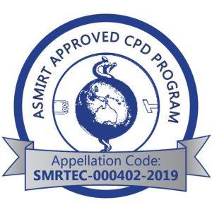 ASMIRT Approved CPD Program, Appellation Code: SMRTEC-000402-2019