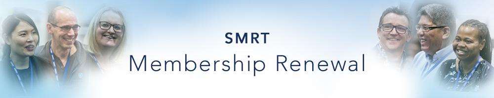 SMRT Membership Renewal