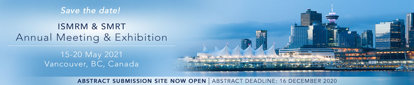 2021 ISMRM & SMRT Annual Meeting & Exhibition