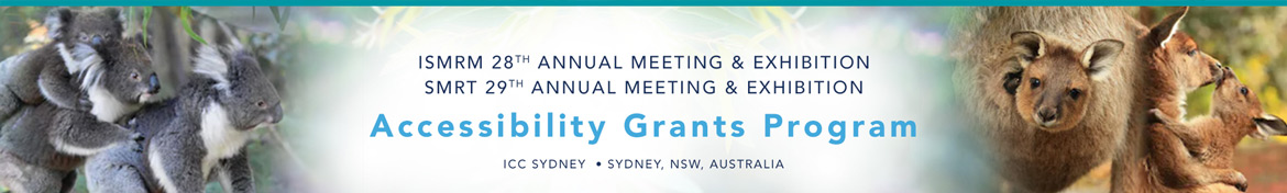 ISMRM & SMRT Annual Meeting Accessibility Grants Program