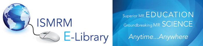 ISMRM E-Library graphic