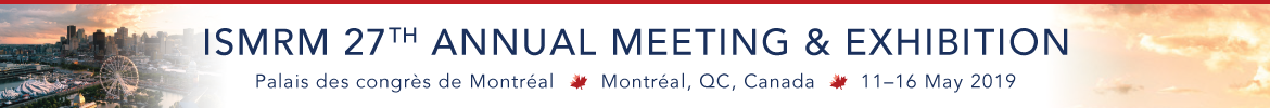 2019 ISMRM Meeting Banner