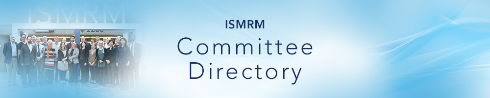 ISMRM Committee Directory