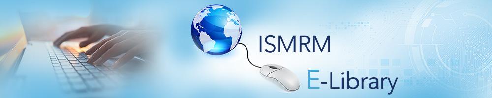 ISMRM E-Library