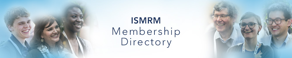 ISMRM Membership Directory