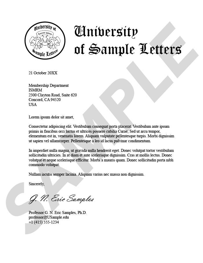 What Is A Verification Letter