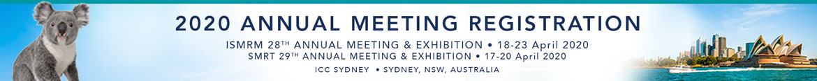2020 ISMRM & SMRT Annual Meeting Registration